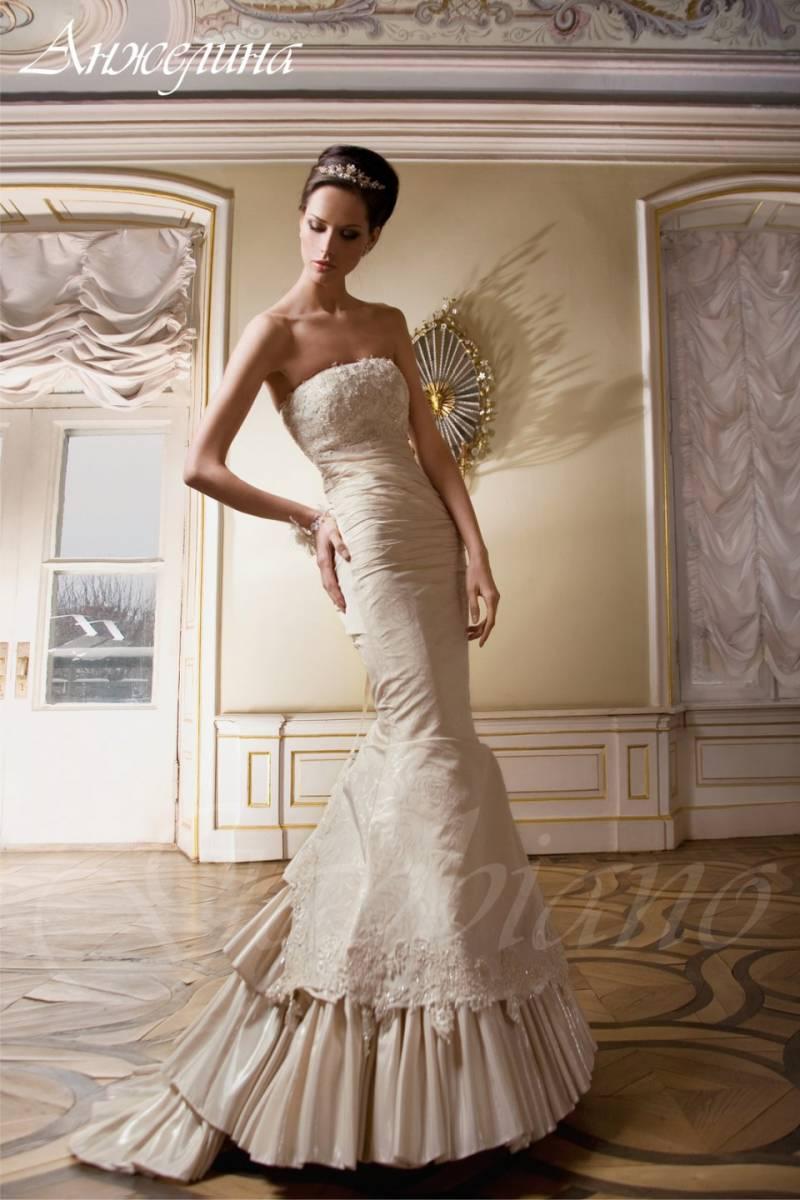 свадебные платья из ткани